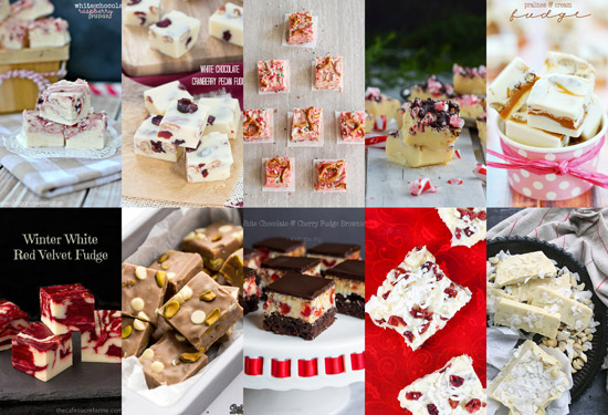 In the event you DO like white chocolate, here are all 10 beautiful recipes for you to try.