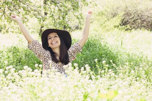 http://www.dreamstime.com/stock-image-successful-young-woman-happy-garden-image30782331