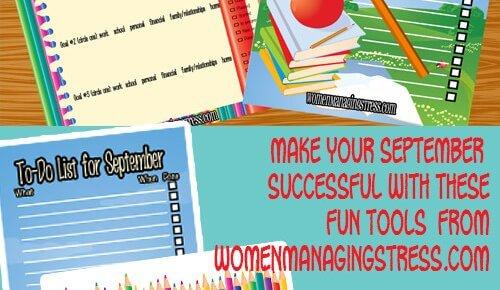Stress-free Goal Planning Downloads for September