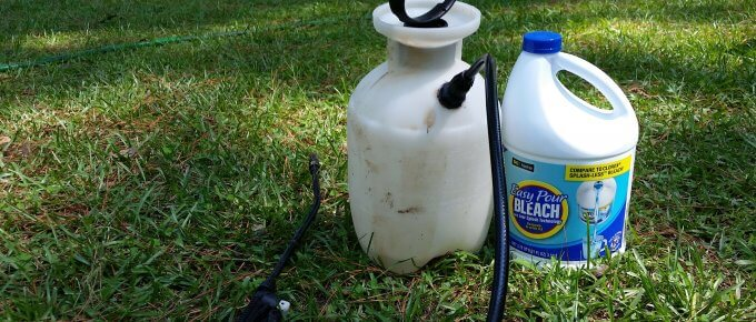 How to Wash Your House without a Power Washer